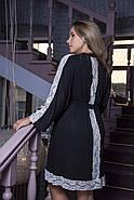 Вискозный домашний халат больших размеров, фото 2