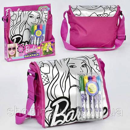 Детская сумочка Разрисуй меня Barbie JX20198В, фото 2