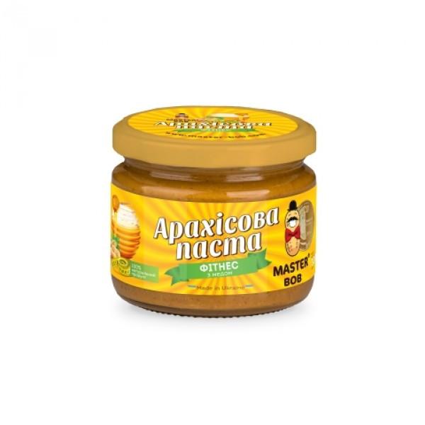 """Арахисовая паста """"Фитнес"""" с мёдом"""