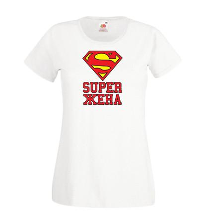 Женская футболка с принтом S