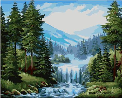 Картины по номерам 40*50 см В КОРОБКЕ Дикая природа Artstory