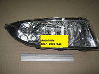 Фара противотуманная Skoda Fabia 2007-2010 (производство DEPO, Тайвань)