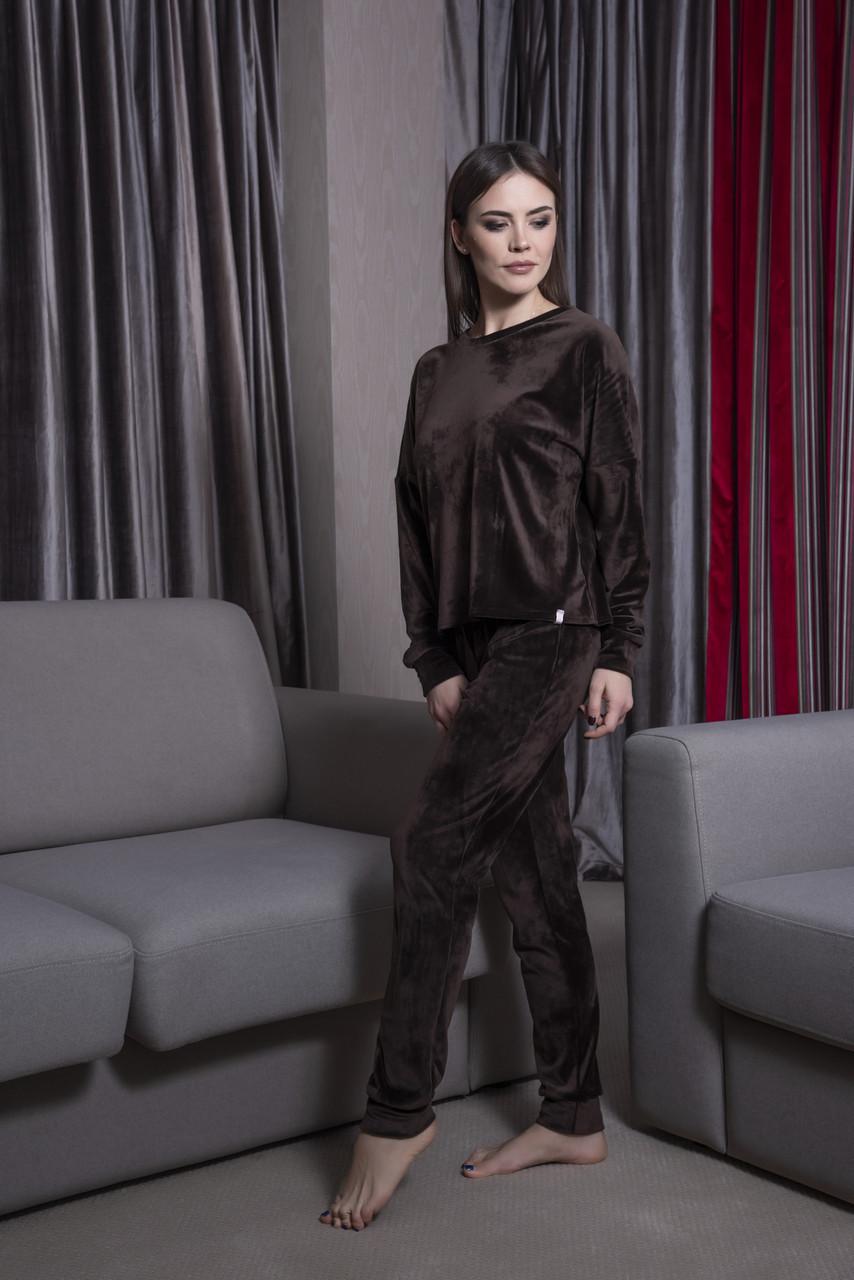 Теплая  пижама штаны и кофта Orli