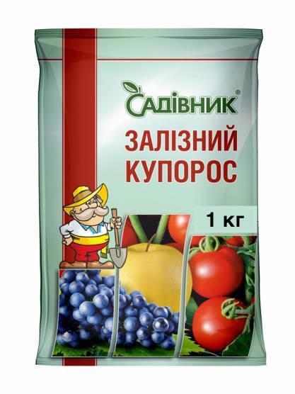 Фунгицид Железный купорос, Garden club  1 кг