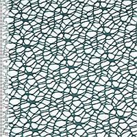 Сетка кружево паутинка зеленая темная ш.160 (14648.005)