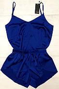 Шелковый комплект майка и шортики  размер 48-50, фото 4
