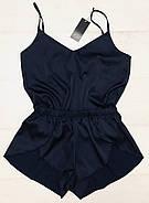 Легкий шовковий комплект майка і шорти розмір 48-50, фото 3