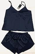 Легкий шелковый комплект майка и шортики  размер 48-50, фото 4