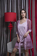 Нежный комплект халат и пеньюар, фото 3