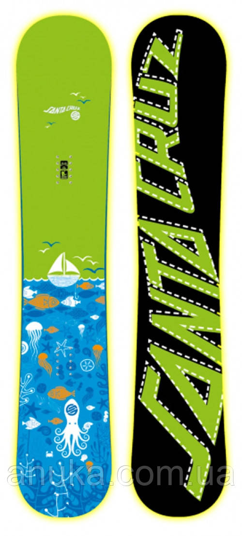 Сноуборд Santa Cruz Squid Green