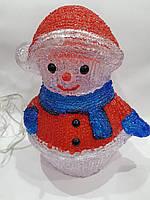 Дед Мороз - под ёлку (новогодняя акриловая фигура на лед лампочках)