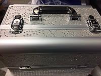 Валіза майстра металевий розсувний (срібло)