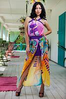 Сарафан фиолетовый молодежный Бриз размер 44-46
