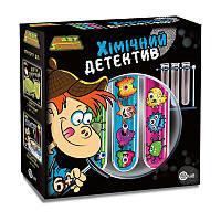 Химический детектив Украинская упаковка, Детский игрушечный набор, EasyScience (45031)