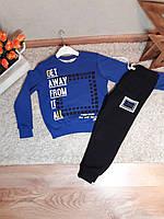 Теплый спортивный костюм для мальчиков от 5 до 8 лет, Турция, фото 1