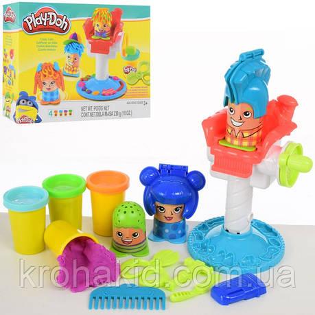"""Ігровий набір для ліплення Пластилін Play-Doh """"Божевільні зачіски/Перукар"""" 2245, фото 2"""