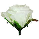 Букет искусственной чайной розы, 46см (16 шт. в уп), фото 2