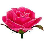 Букет искусственной чайной розы, 46см (16 шт. в уп), фото 4