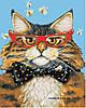 Картины по номерам 40*50 см В КОРОБКЕ Кот на стиле Artstory