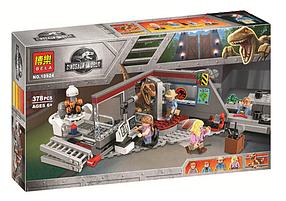 Конструктор Bela 10924 Мир Юрского периода Охота на Рапторов (аналог Lego Jurassic World 75932)