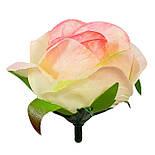 Букет искусственной чайной розы, 46см (16 шт. в уп), фото 5
