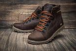 Кожаные ботинки мужские зимние CAT Expensive Chocolate, фото 2