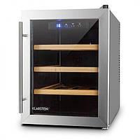 Холодильник для вина Klarstein Reserva 12 Uno 33 литры ; винный холодильник, винный шкаф
