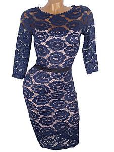 Нарядное гипюровое платье (в расцветках)