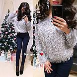Женский пушистый свитер (4 цвета), фото 2