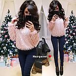 Женский пушистый свитер (4 цвета), фото 10