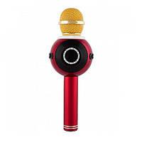Беспроводной микрофон-караоке WSIER WS-878 Красный