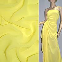 Креп-шифон стрейч желтый ш.150 ( 15926.004 )
