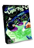 """Набор для рисования Рисуй светом """"Neon Light Pen"""" формат А4, 01-02, в коробке"""