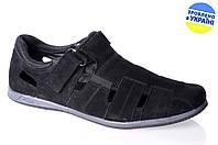 Мужские сандалии mida 13782н.ч черные   летние , фото 1