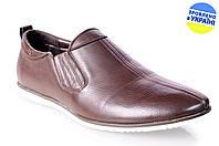 Мужские туфли стиля джинс intershoes 13v200 коричневые   весенние , фото 1