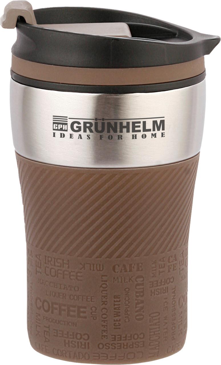 Термокружка Grunhelm GTC301 250мл коричневая