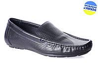 Мужские мокасины intershoes 13l496 черные   летние , фото 1
