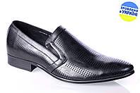 Мужские классические туфли intershoes 13l298 черные   летние , фото 1