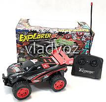Машинка на радио пульте управления модель скоростной джип для кросс кантри красный 1:18, фото 2