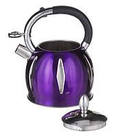 Чайник со свистком 3.0 литра Фиолетовый