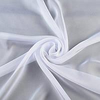 Шифон Діллон білий ш.150 (15933.002)