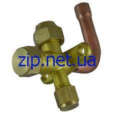 Вентиль сервисный для кондиционера 3/4 угловой