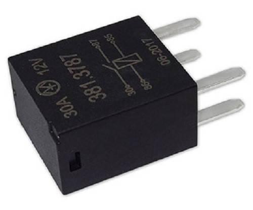 Реле электромагнитное 381.3787 12В 30А 4-х контактное, фото 2