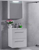 Набор мебели для ванной 60 см Santorini Буль-буль белый