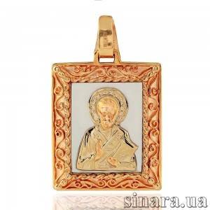 Золотая ладанка Николай Чудотворец 6831