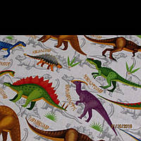 """Детское постельное белье """"динозаврики"""""""