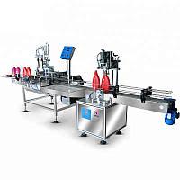 Автомат для розлива и укупорки жидких продуктов