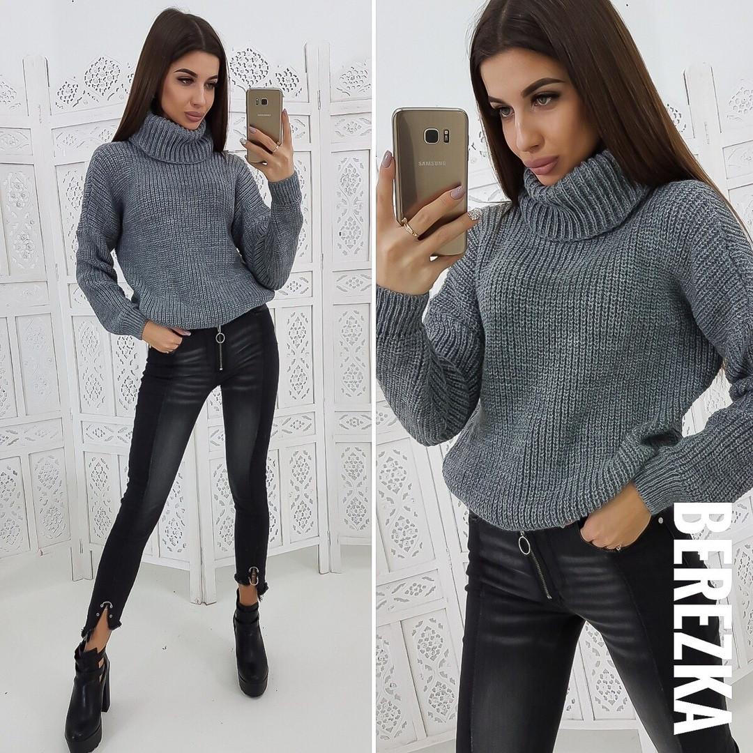 7efc76e26c7 Модный свитер с высоким горлом в расцветках АМЛ-1218.077  продажа ...