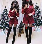 Женский нарядный кружевной комбинезон шорты (4 цвета), фото 5
