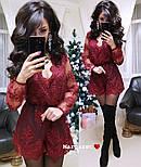 Женский нарядный кружевной комбинезон шорты (4 цвета), фото 7